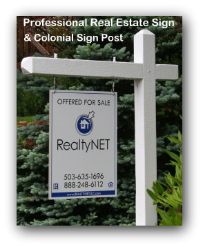 Professional Real Estate Sign