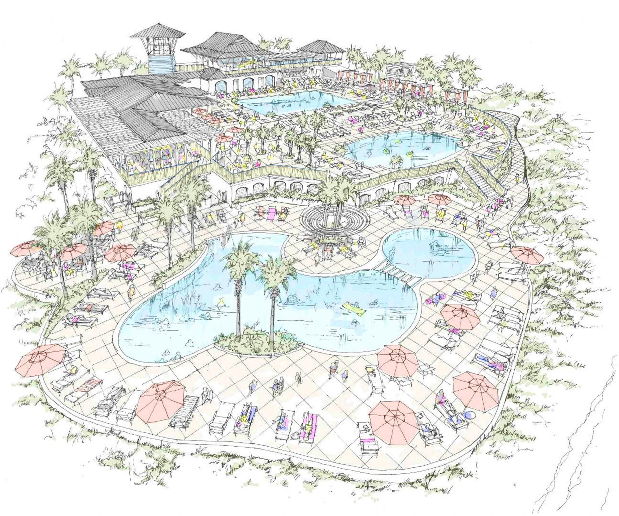 WaterColor Beach Club Expansion
