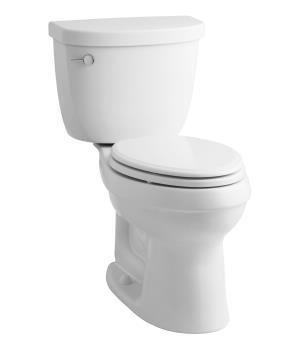 Gravity Operated Toilet