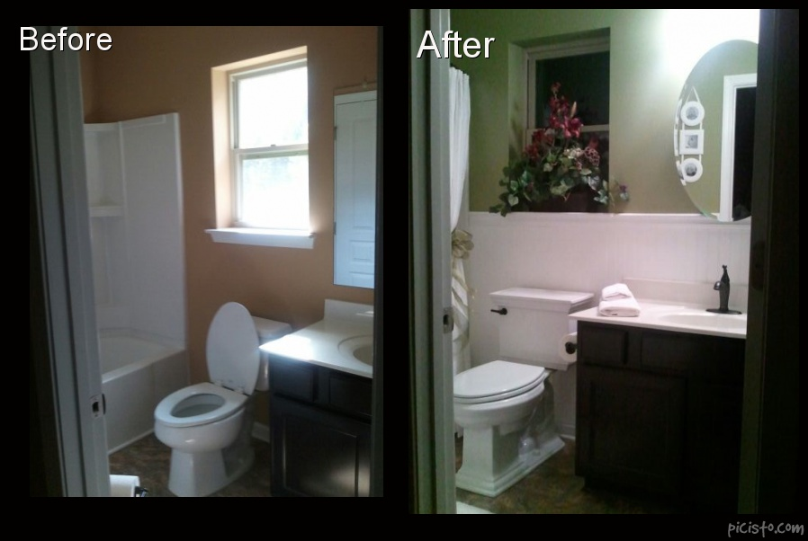 Bathroom Mini Makeovers bathroom before and afters in woodstock, ga