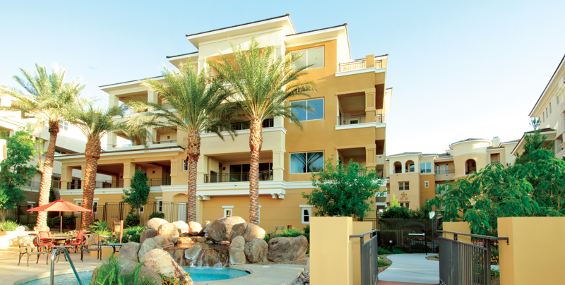 Summerlin Luxury Condos at Mira Villa
